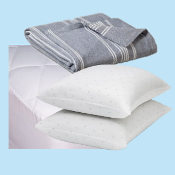 Bedding Basics Package - Twin Size