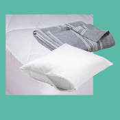 Bedding Basics w/Pillow Protectors - Twin Size