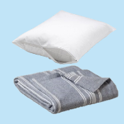 Blanket & Pillow Protector Pack - Twin Size
